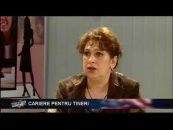 Educația Încotro | 10.05.2012 | Vasile Burlui, invitati Adriana Sarghe și Irina Ungureanu | Cariere pentru tineri