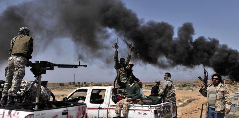 Trupe britanice în Libia