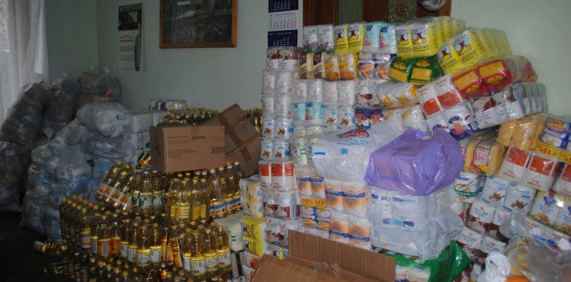 Ajutoare alimentare pentru ieşeni