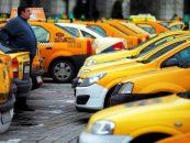 Taximetriştii protestează