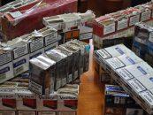 Contrabandă de ţigări la Sculeni
