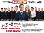 Victoria PSD la Iaşi: 47,92%