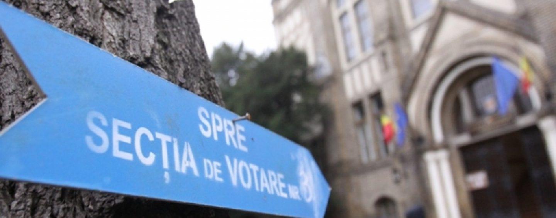 UPDATE: 16,12% prezenţă la vot la ora 13.00