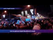 Cum au petrecut ieşenii Revelionul în stradă