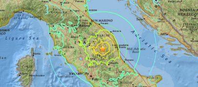 Cutremur în centrul Italiei
