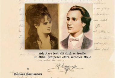 Spectacol inedit, Eminescu şi Veronica