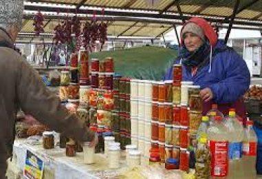 Preţuri minime la produsele româneşti în pieţe