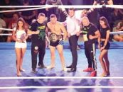 Gală incendiară de MMA la Vaslui