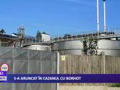 Incident cumplit la o fabrică de băuturi alcoolice din Botoșani