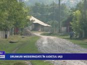 Drumuri modernizate pentru ieșeni