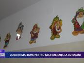 Condiţii mai bune de tratament şi cazare pentru micii pacienţi din judeţul Botoşani