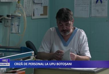Criza de personal la UPU Botoșani