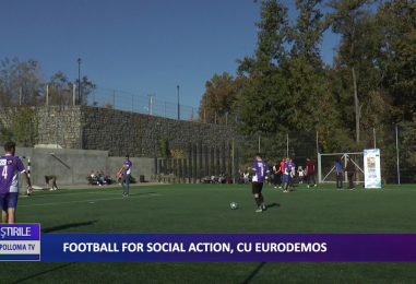 FOTBALL FOR SOCIAL ACTION CU EURODEMOS