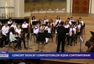 Concert dedicat compozitorilor ieşeni contemporani