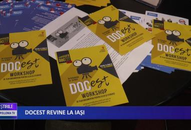 DocEst revine la Iași