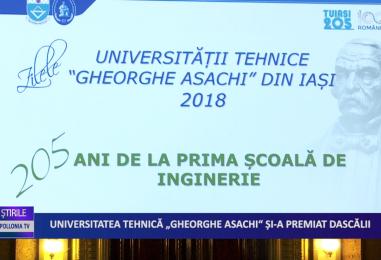Universitatea Tehnică Gheorghe Asachi și-a premiat dascălii