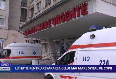 Licitaţie pentru repararea celui mai mare spital de copii