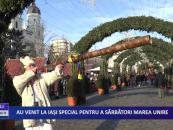 Au venit la Iaşi special pentru a sărbători Marea Unire în An Centenar