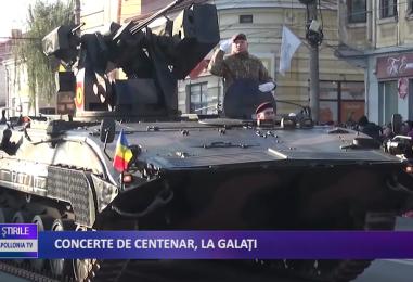 CONCERTE DE CENTENAR, LA GALAȚI