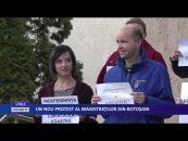 Un nou protest al magistraților din  Botoșani
