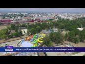 Finalizează modernizarea Insulei de Agrement Bacău