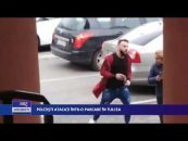 Polițiști atacați într-o parcare în Tulcea