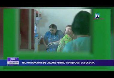 Nici un donator de organe pentru transplant la Suceava