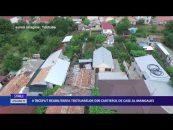 A început reabilitarea trotuarelor din cartierul de case al Mangaliei