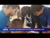 Învăţare experimentală cu ajutorul dronelor, la LIIS