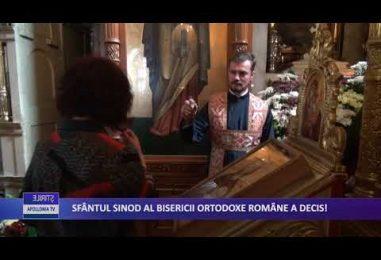 SFÂNTUL SINOD AL BISERICII ORTODOXE ROMÂNE A DECIS!