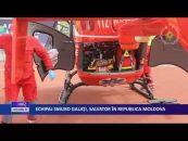 Echipaj SMURD Galaţi, salvator în R Moldova