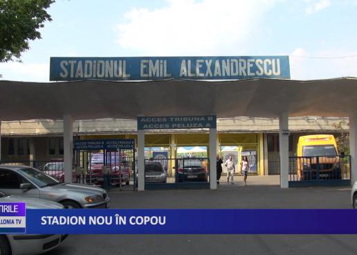 STADION NOU ÎN COPOU!