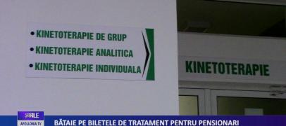 BĂTAIE PE BILETELE DE TRATAMENT PENTRU PENSIONARI!