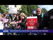 Simpatizanţii PSD, nas în nas cu grupurile anti-Dragnea