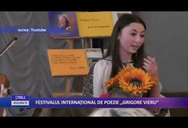 """FESTIVALUL INTERNAŢIONAL DE POEZIE """"GRIGORE VIERU"""""""