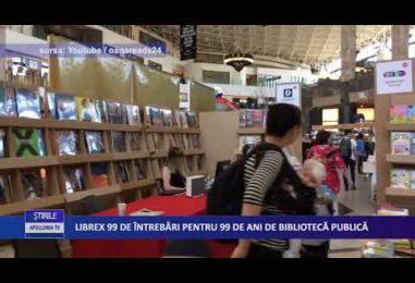 Librex 99 de întrebări pentru 99 de ani de bibliotecă publică