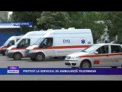 PROTEST LA SERVICIUL DE AMBULANŢĂ TELEORMAN