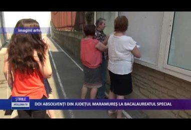 Doi absolvenți din județul Maramureș la Bacalaureatul special