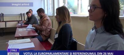 VOTUL LA EUROPARLAMENTARE ŞI REFERENDUMUL DIN 26 MAI