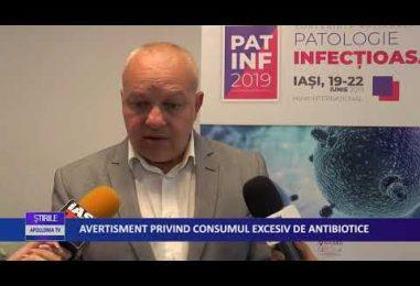 AVERTISMENT PRIVIND CONSUMUL EXCESIV DE ANTIBIOTICE