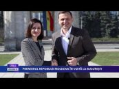 PREMIERUL REPUBLICII MOLDOVA IN VIZITA LA BUCURESTI