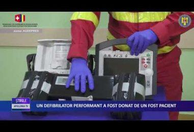 UN DEFIBRILATOR PERFORMANT A FOST DONAT DE UN FOST PACIENT