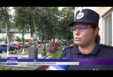 ACCIDENT FEROVIAR LA DOROHOI