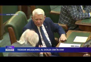 TEODOR MELEŞCANU, AL DOILEA OM ÎN STAT