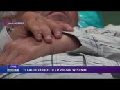19 CAZURI DE INFECŢIE CU VIRUSUL WEST NILE