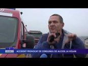 ACCIDENT PROVOCAT DE CONSUMUL DE ALCOOL LA VOLAN