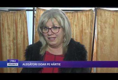 ALEGĂTORI DOAR PE HÂRTIE