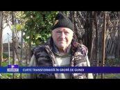 CURTE TRANSFORMATĂ ÎN GROAPĂ DE GUNOI