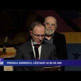 Premiul Mihai Eminescu, câștigat la 85 de ani