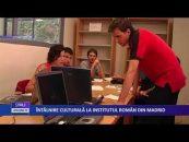 Întâlnire culturală la Institutul român din Madrid